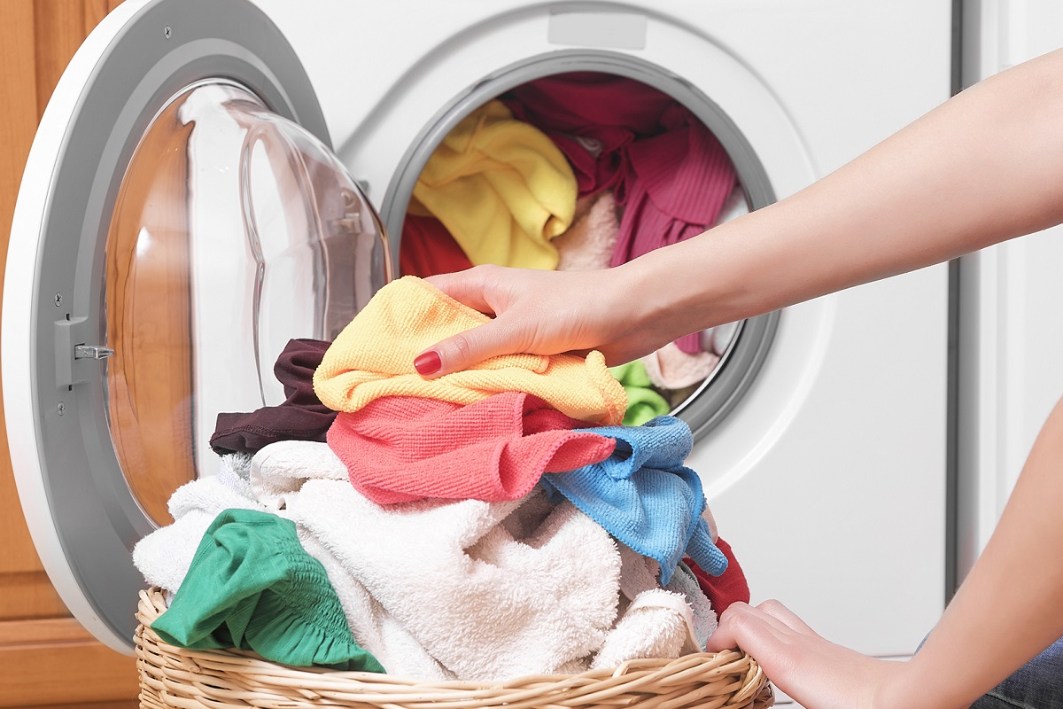 علت تمیز نشدن لباس ها در لباسشویی
