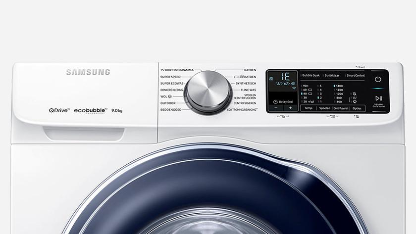کد خطای 1LC، LC، E11، 9E، 1LE، LE در ماشین لباسشویی سامسونگ