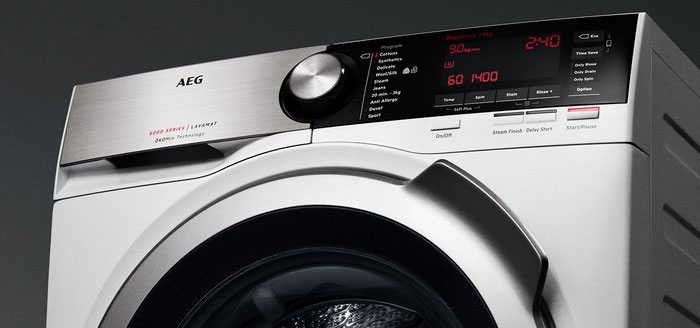 کدهای خطای ماشین لباسشویی آاگ مدل Lavamot