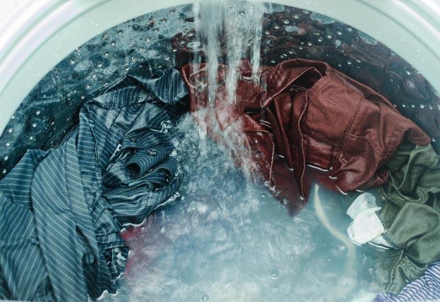 خطای تخلیه ماشین لباسشویی میله