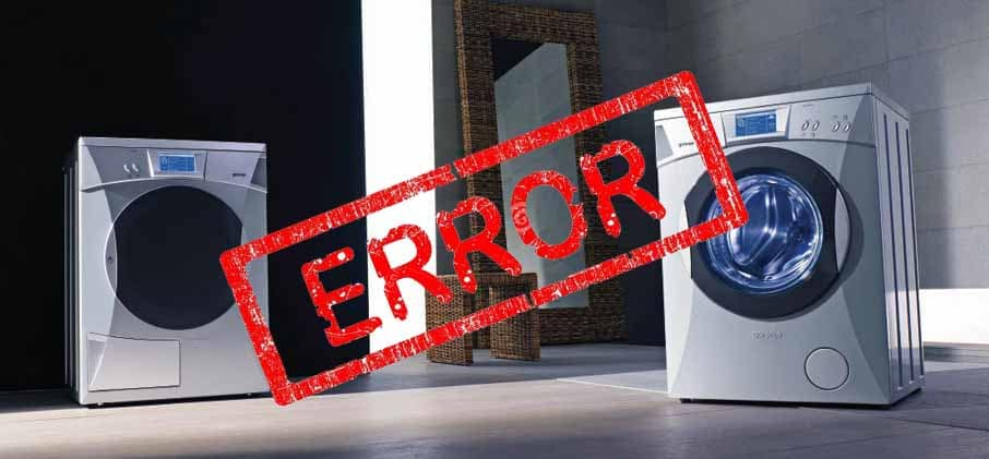 کد خطای خدمات تماس در ماشین لباسشویی میله