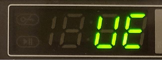 کد خطای UE در ماشین لباسشویی دوو