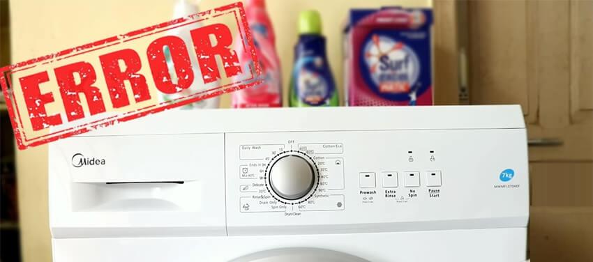 کد خطای f15 در لباسشویی ایندزیت