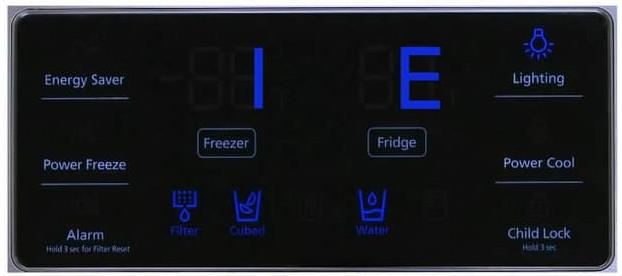 کد خطای RT در یخچال دوو