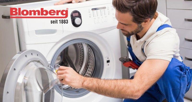 کد خطای 02 در لباسشویی بلومبرگ