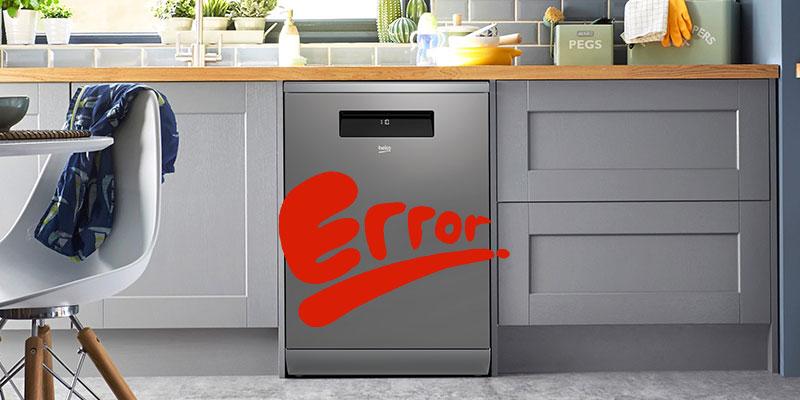 کد خطای H5 در ماشین ظرفشویی بکو