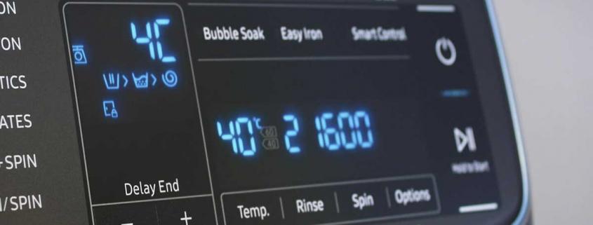 کد خطای E-3 در لباسشویی کنوود