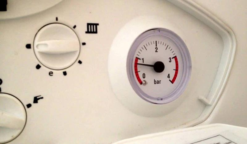 در صورت افزایش فشار پکیج چه کنیم؟