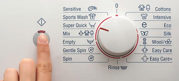 معنی کلمات و اصطلاحات روی ماشین لباسشویی