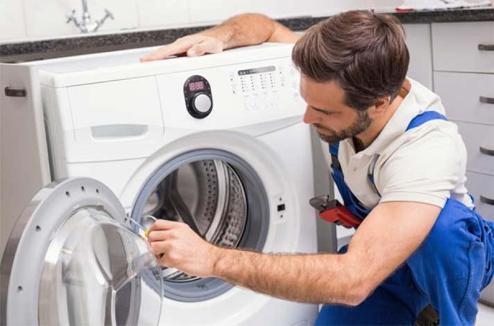 علت خروج بوی سوختگی از ماشین لباسشویی