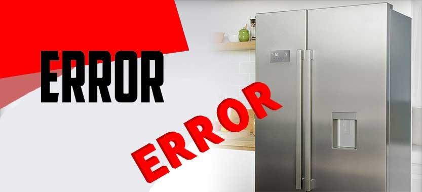 کد خطای یخچال اسنوا مدل 510 و 520