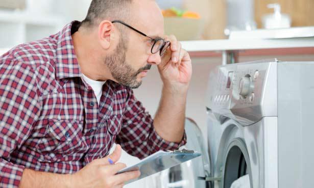 علت جرقه زدن موتور ماشین لباسشویی چیست؟