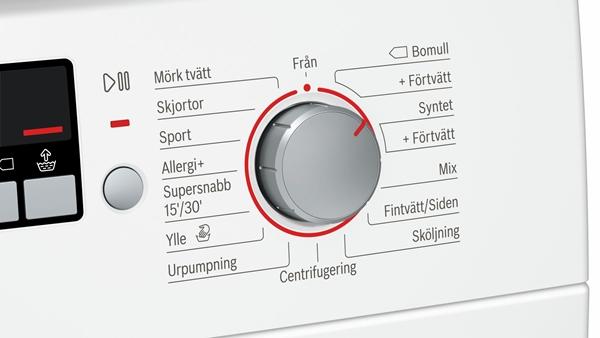 دکمه rinse time selection button یا انتخاب زمان آبکشی